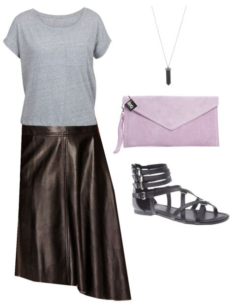 styling a leather skirt 5