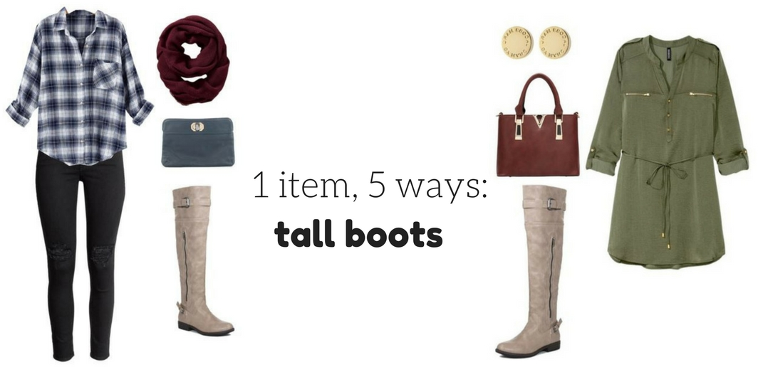 styling tall boots