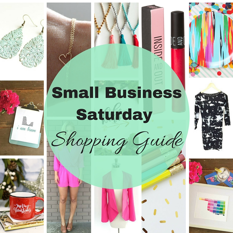 Small Business Saturday Shopping Guide cover photo