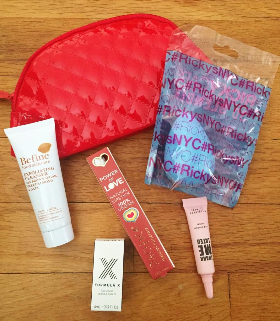 December 2015 Ipsy Glam Bag