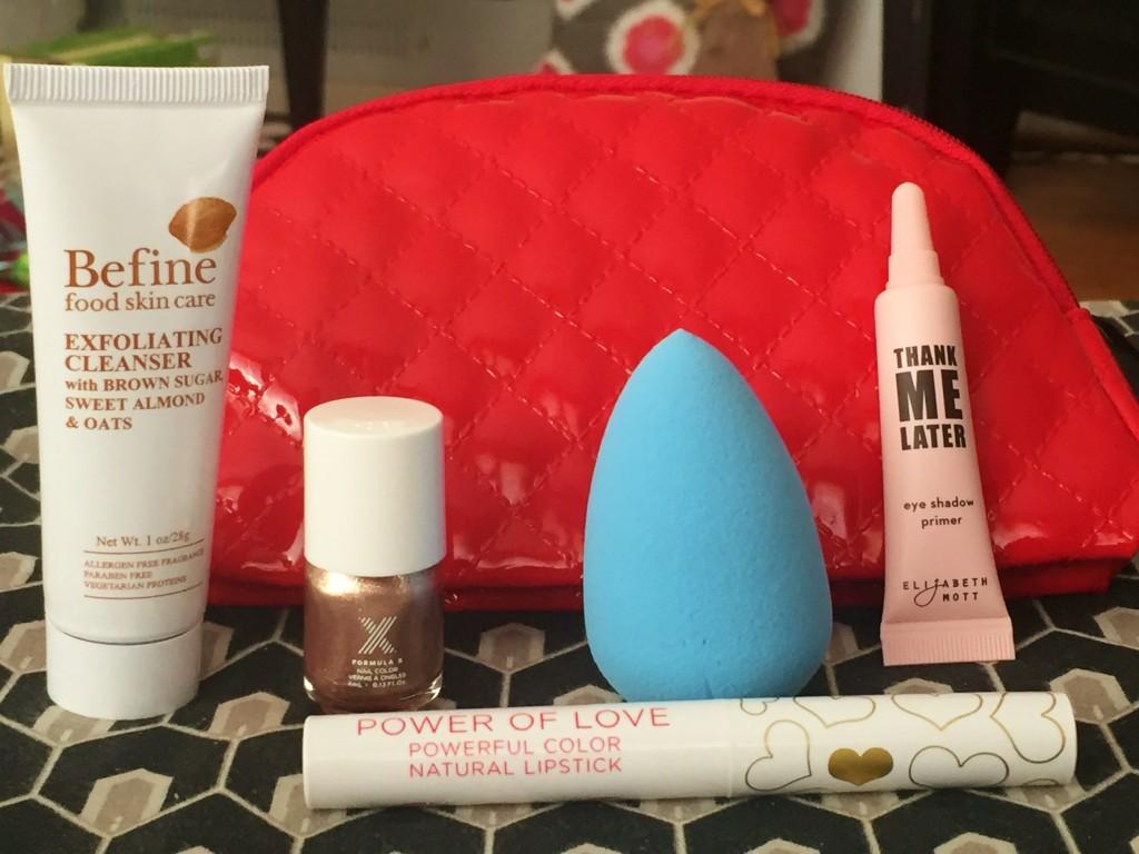 December 2015 Ipsy Glambag items