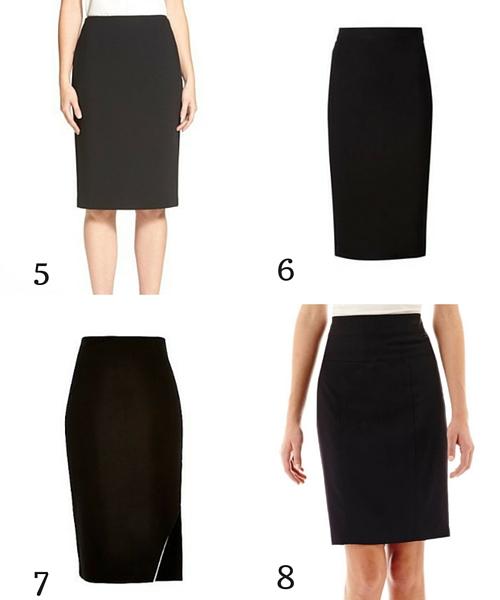 black pencil skirt 2