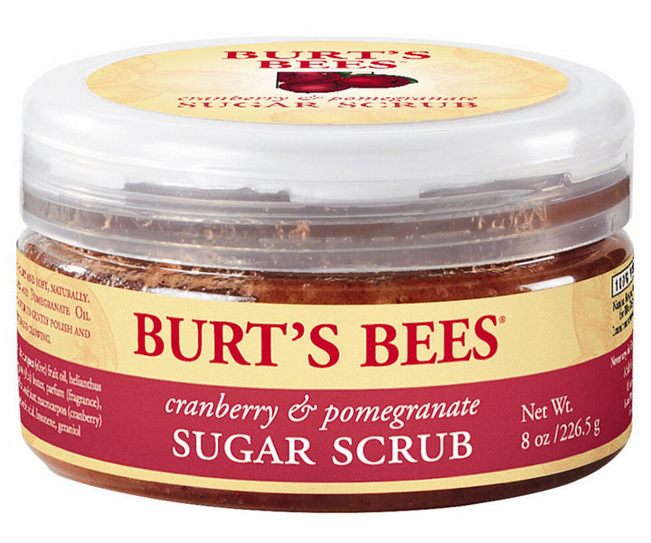 burt's bees cranberry & plmegranate sugar scrub