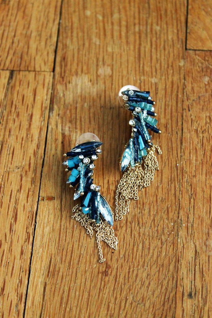 christmas recap lion and witch earrings