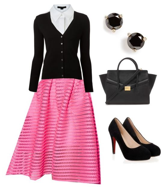 how to wear pink 3
