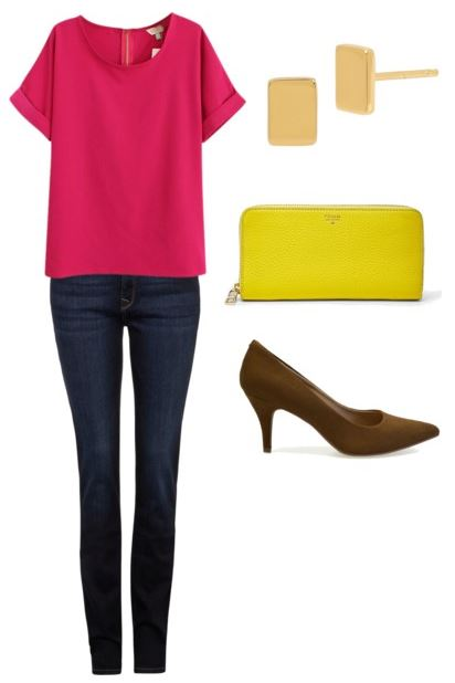 how to wear pink 5