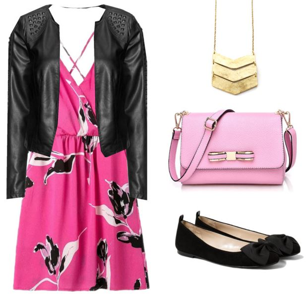 how to wear pink 7