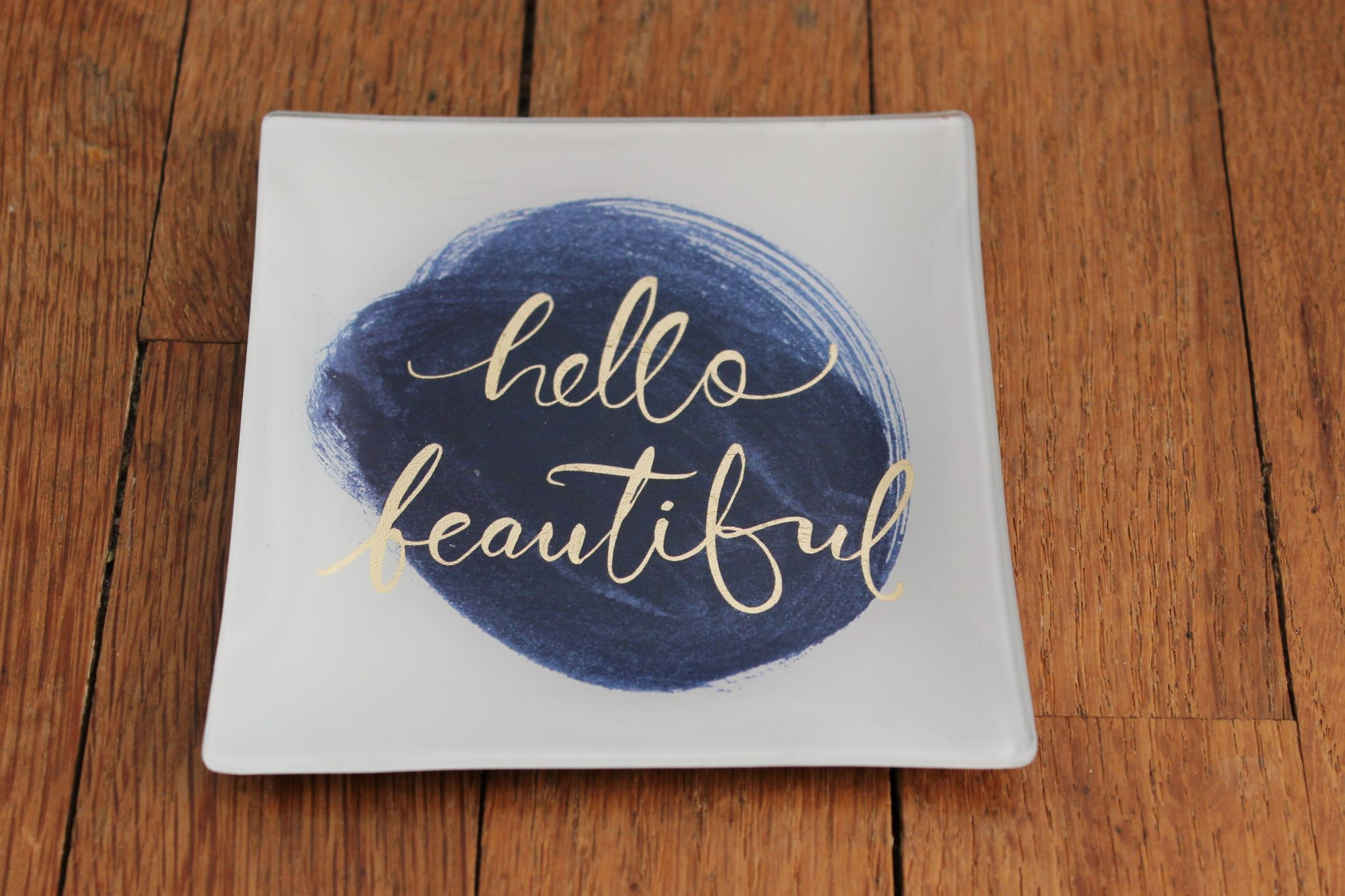 February Popsugar Must Have Box Review Fringe Studio Hello Beautiful Square Tray
