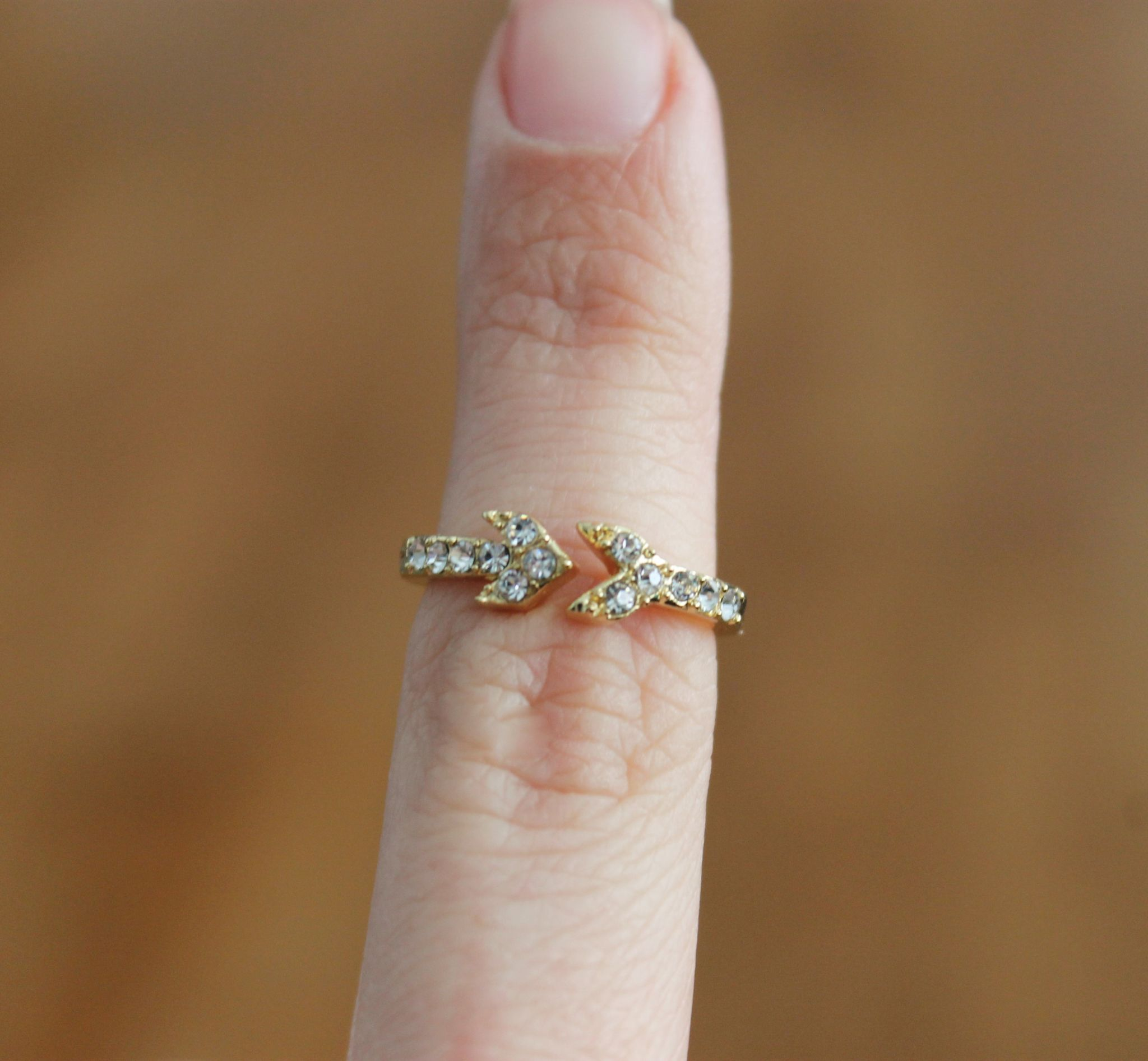 February Popsugar Must Have Box Review JewelryStorm Arrow Ring