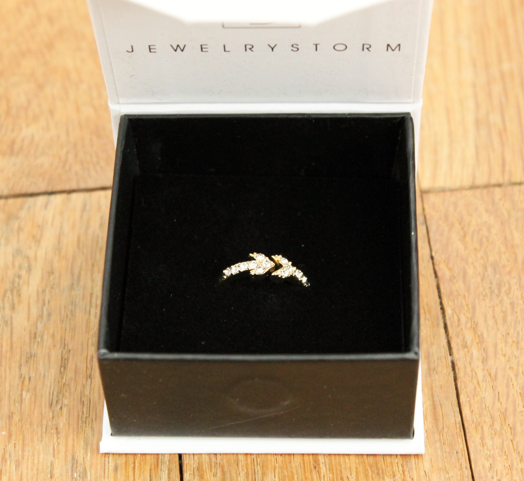 February Popsugar Must Have Box Review JewelryStorm Endless Arrow Ring