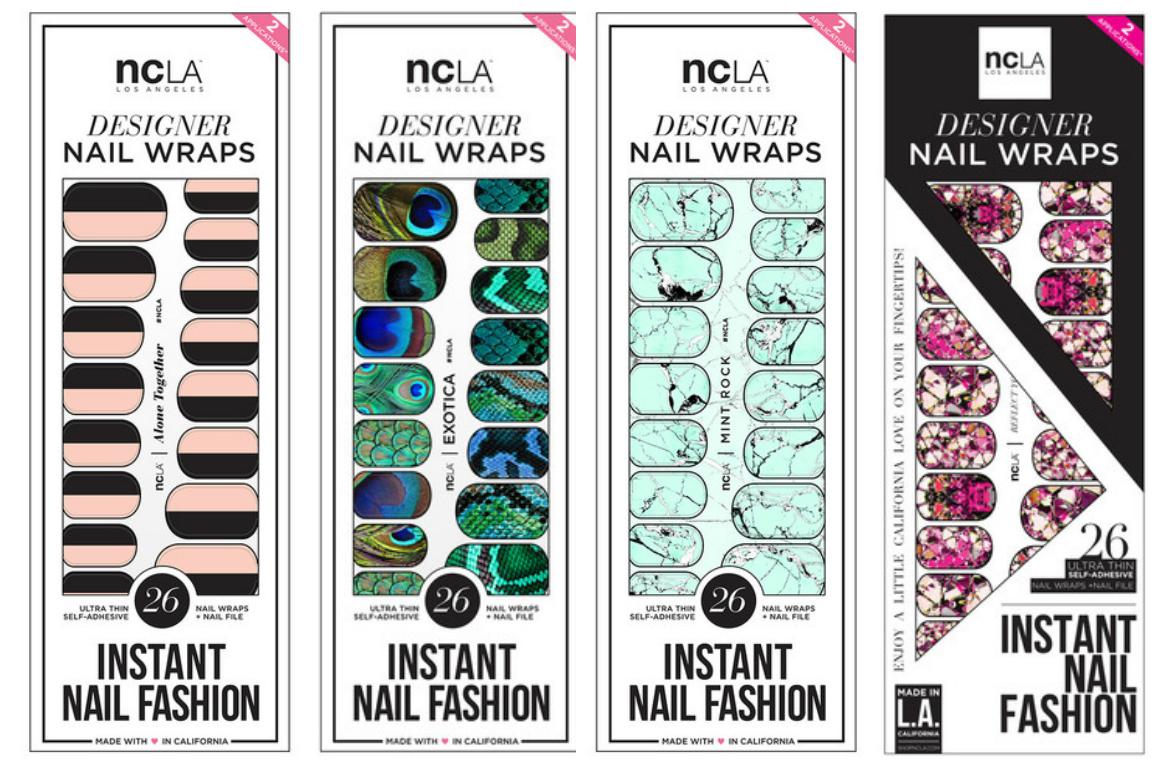 Favorite NCLA nail wraps