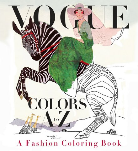 vogue coloring book Friday Favorites