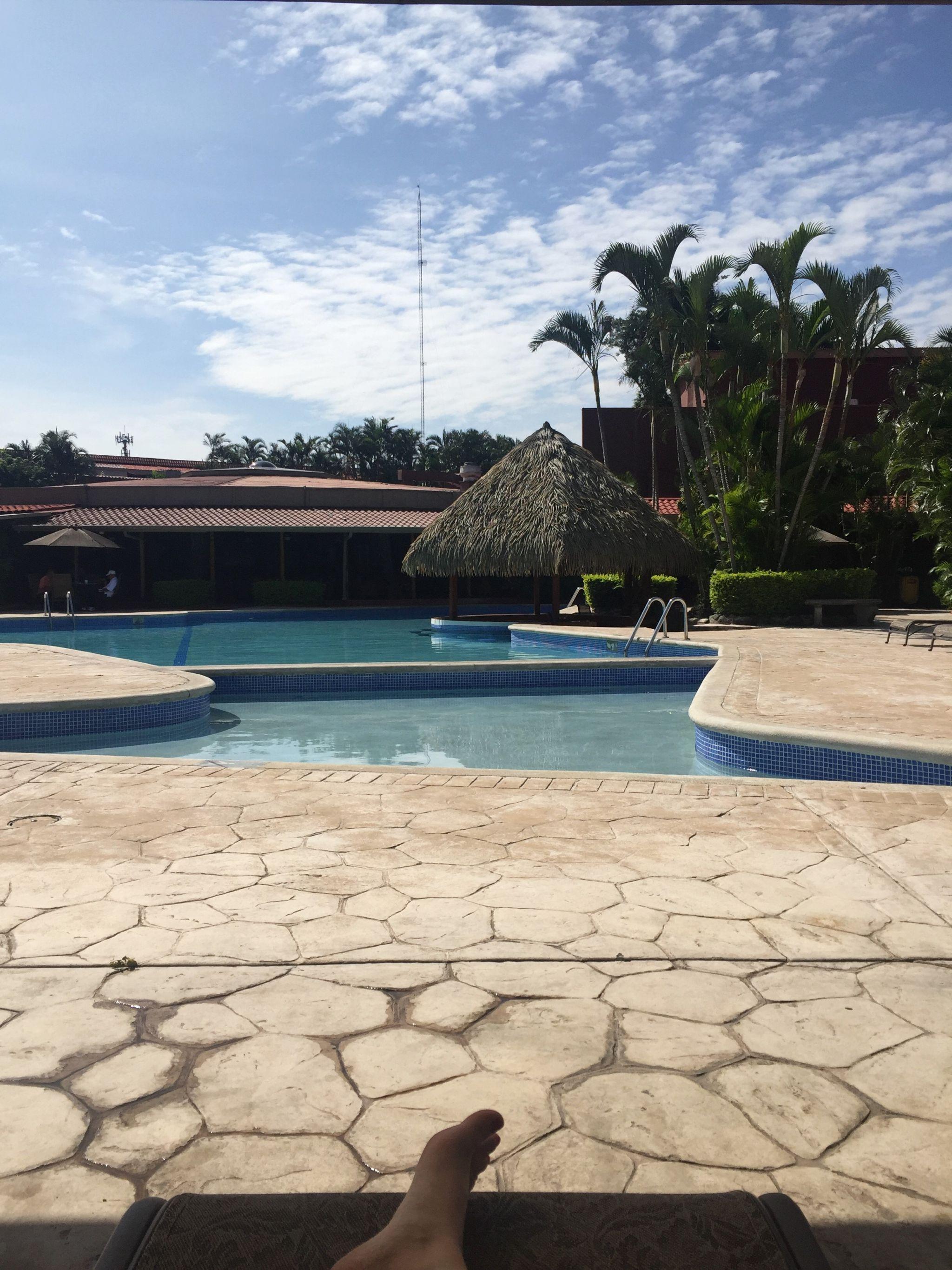 Poolside Costa Rica