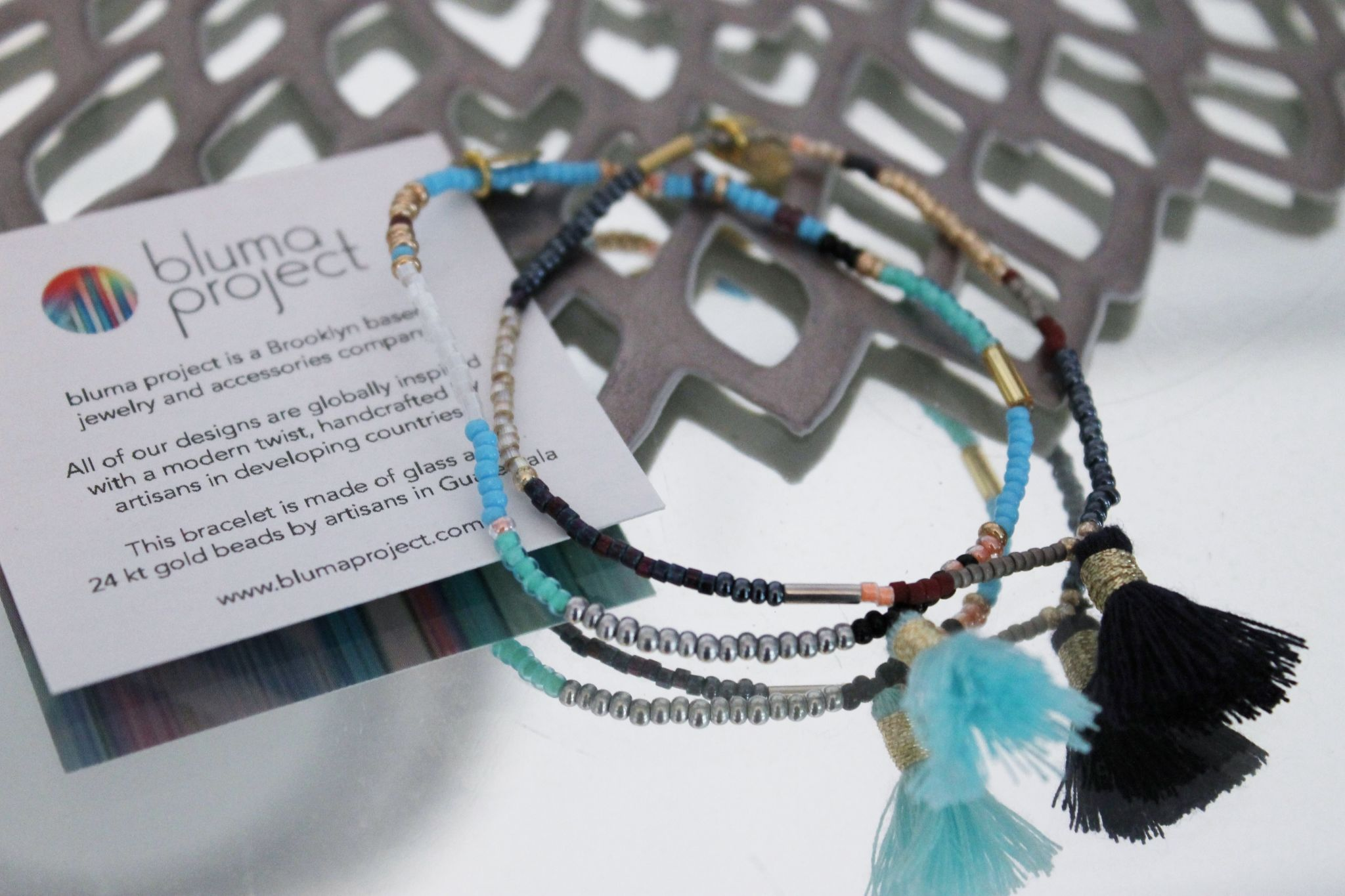 May POPSUGAR Must Have box review Bluma Project Capri Bracelets