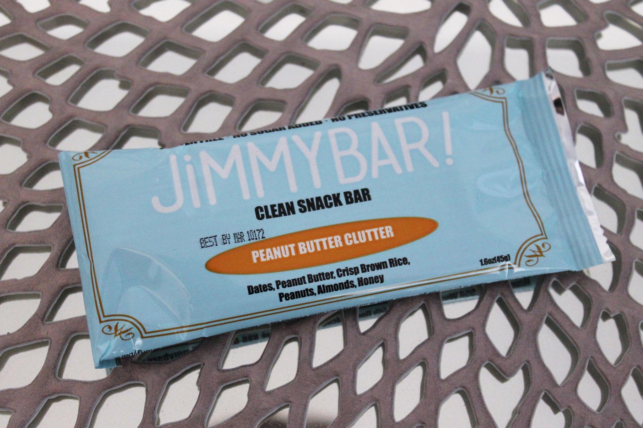 May POPSUGAR Must Have box review JimmyBar! Peanut Butter Clutter Jimmybar!