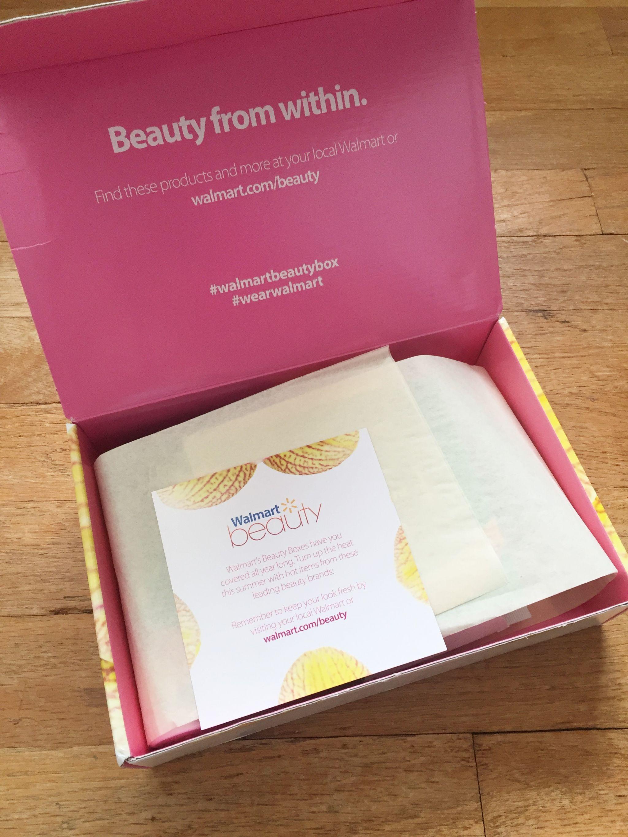 Summer Walmart Beauty Box Review