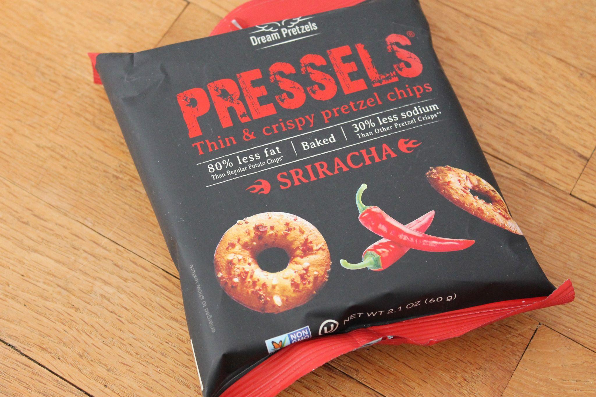 June POPSUGAR Must Have Box Review Pressels Sriracha