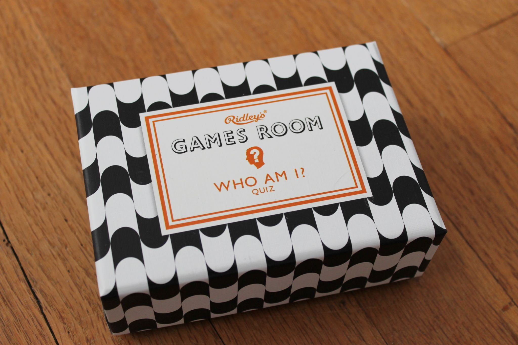 June POPSUGAR Must Have Box Review Wild and Wold Ridley's Games Room Who Am I Quiz