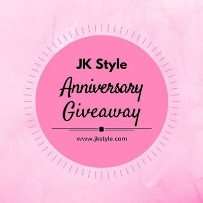 Celebrating three years of blogging over on JKStyle.com this week! Of course there's a giveaway involved! Head over and enter! (Link in profile.) #jkstyle #happyanniversary