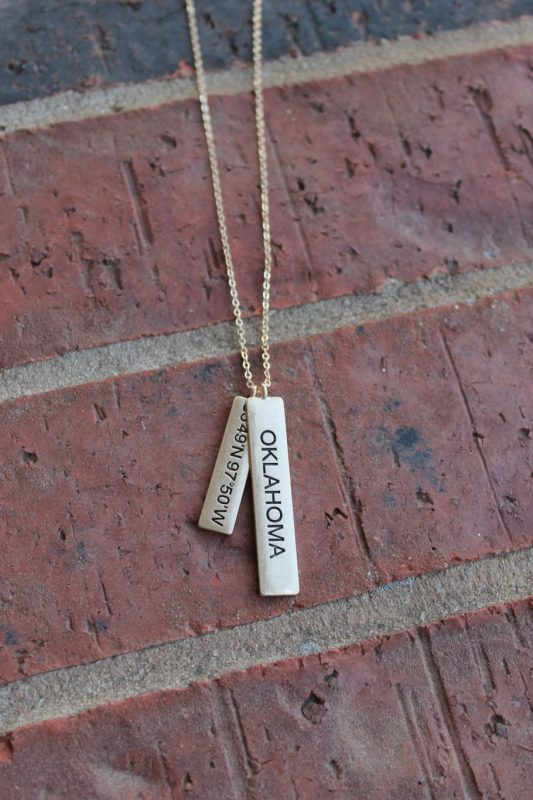 Friday Favorites Oklahoma State Necklace