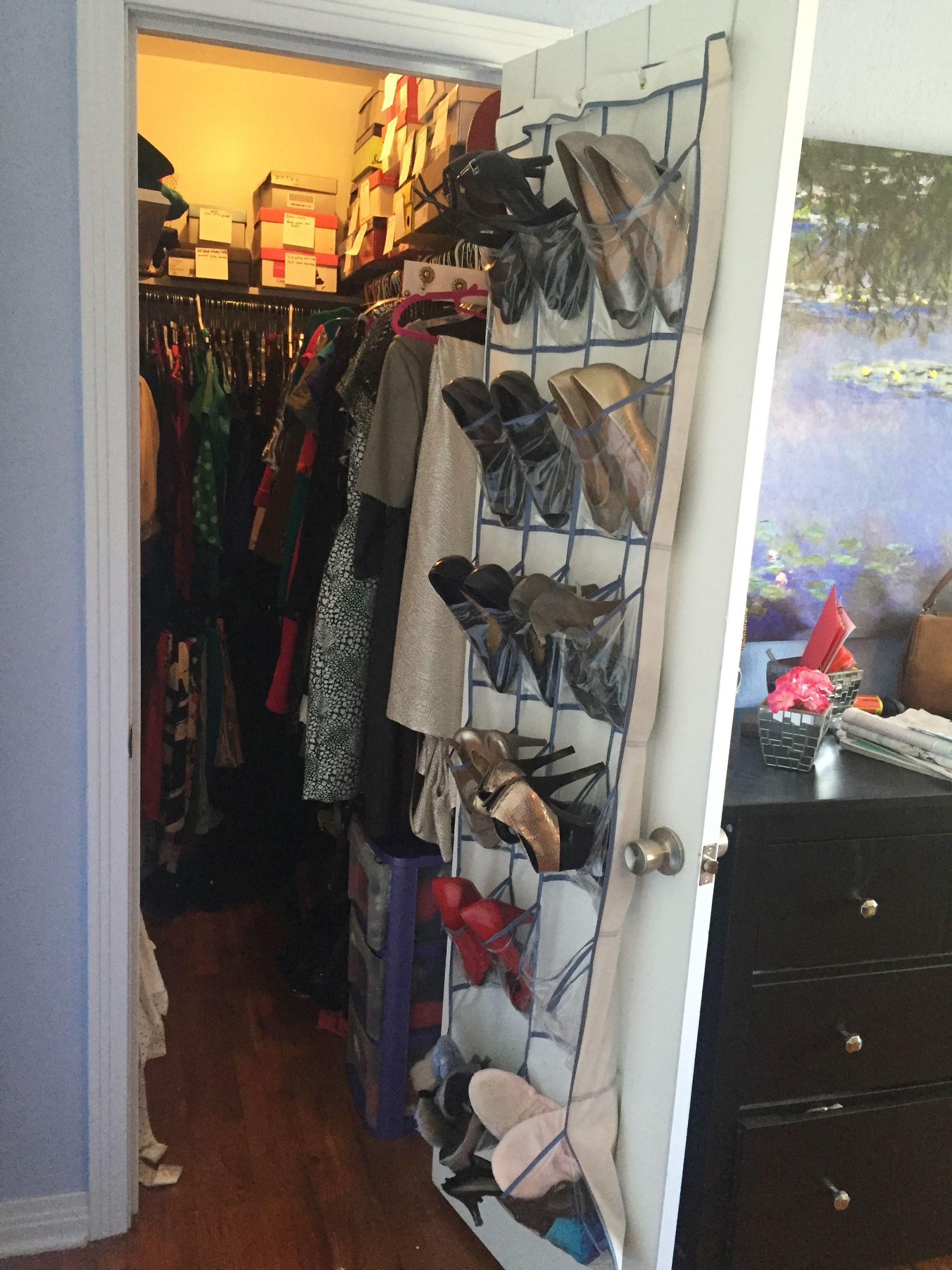 shoe storage over-the-door organizer