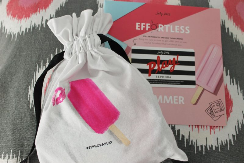 July Play by Sephora Subscription Review