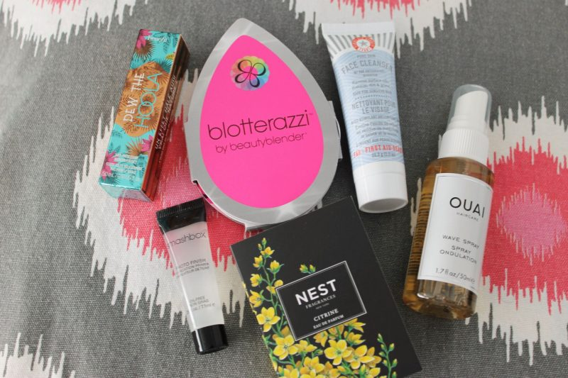 July Play by Sephora Subscription Box products