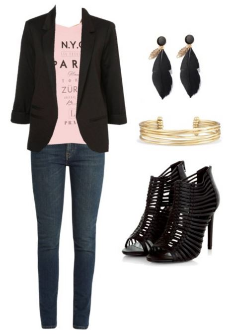 graphic tee outfit over 30