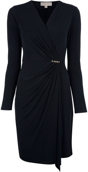 michael kors wrap dress