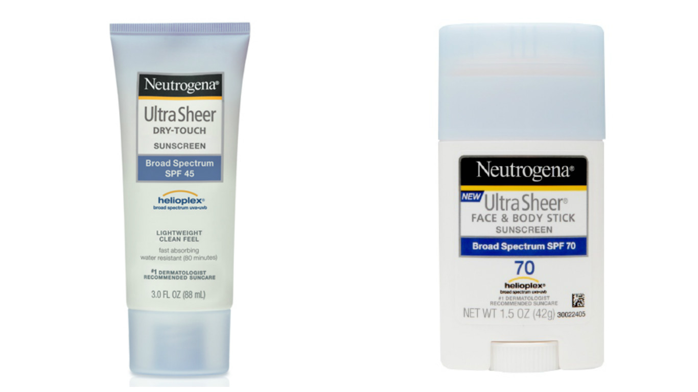 sunscreen products neutrogena