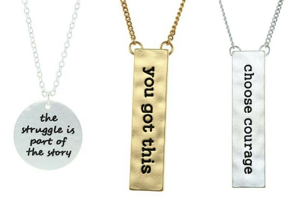 Actually, I Can necklace and other tribe necklaces for sale at Cents of Style