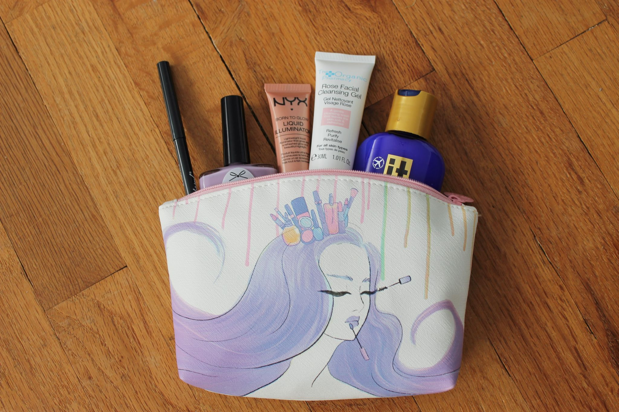 August Ipsy Glambag bag review