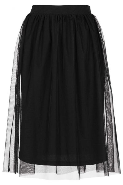 Fashion over 30 tulle skirt