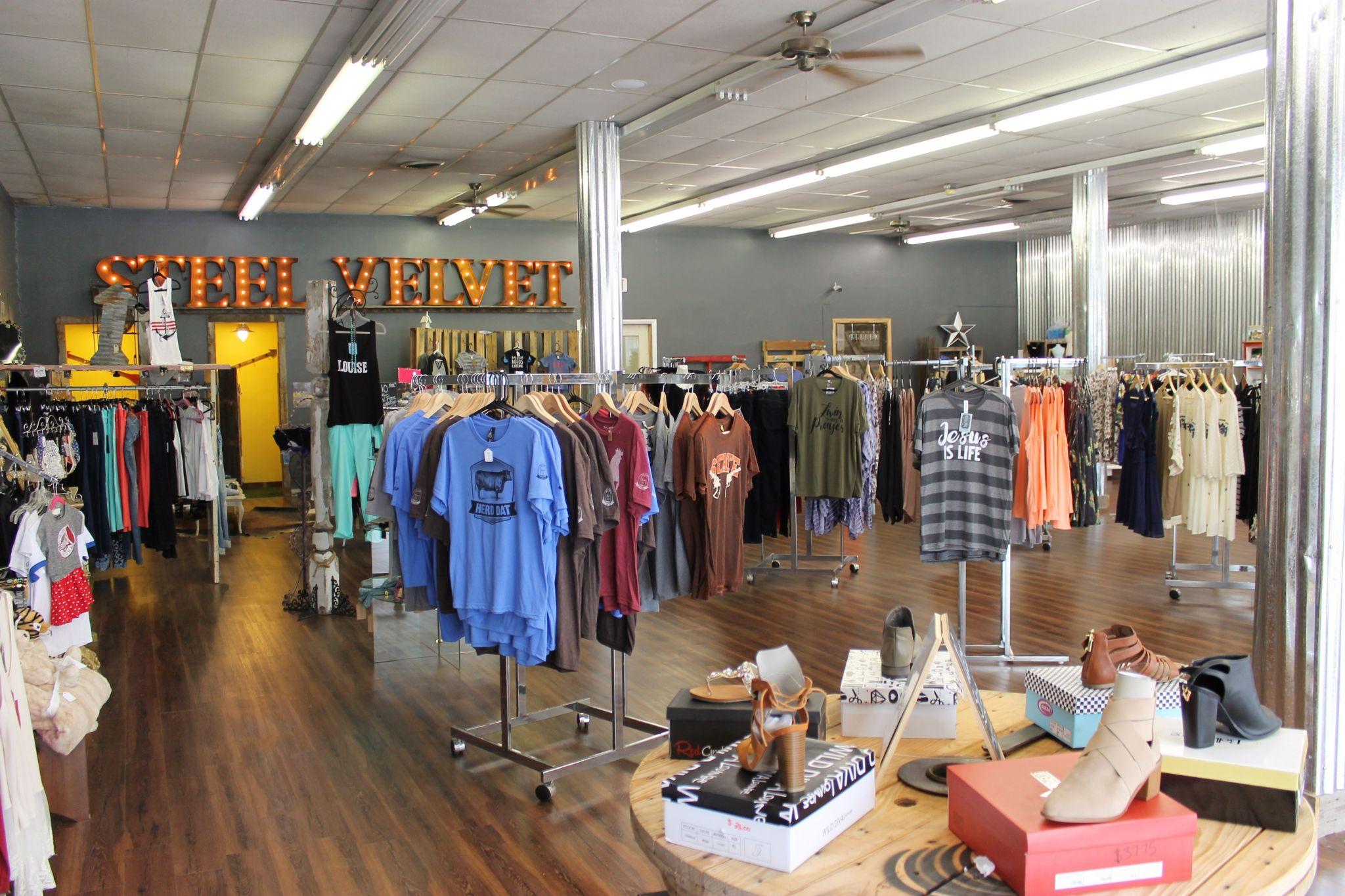 Steel Velvet Boutique in Chickasha