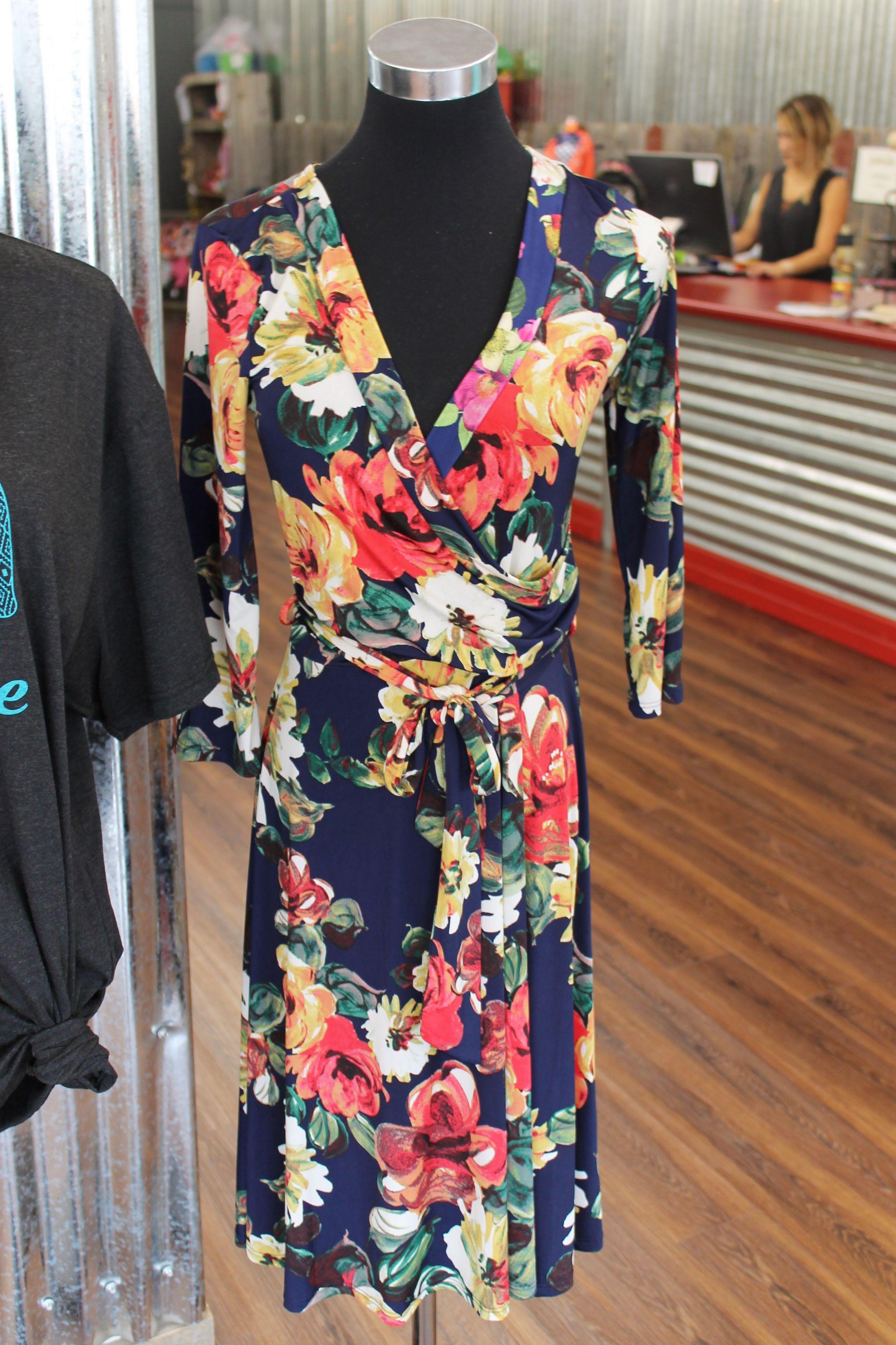 floral dress at Steel Velvet