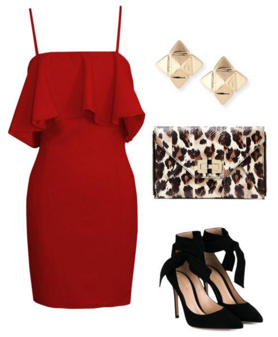 outfit 1 leopard bag