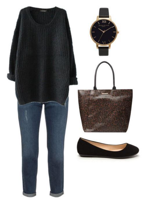 outfit 2 leopard bag