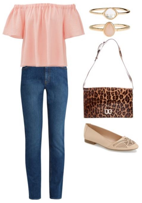 outfit 3 leopard bag