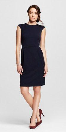 Target style black dress