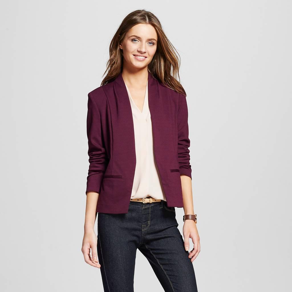 Target style blazer