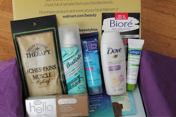Fall Walmart Beauty Box review