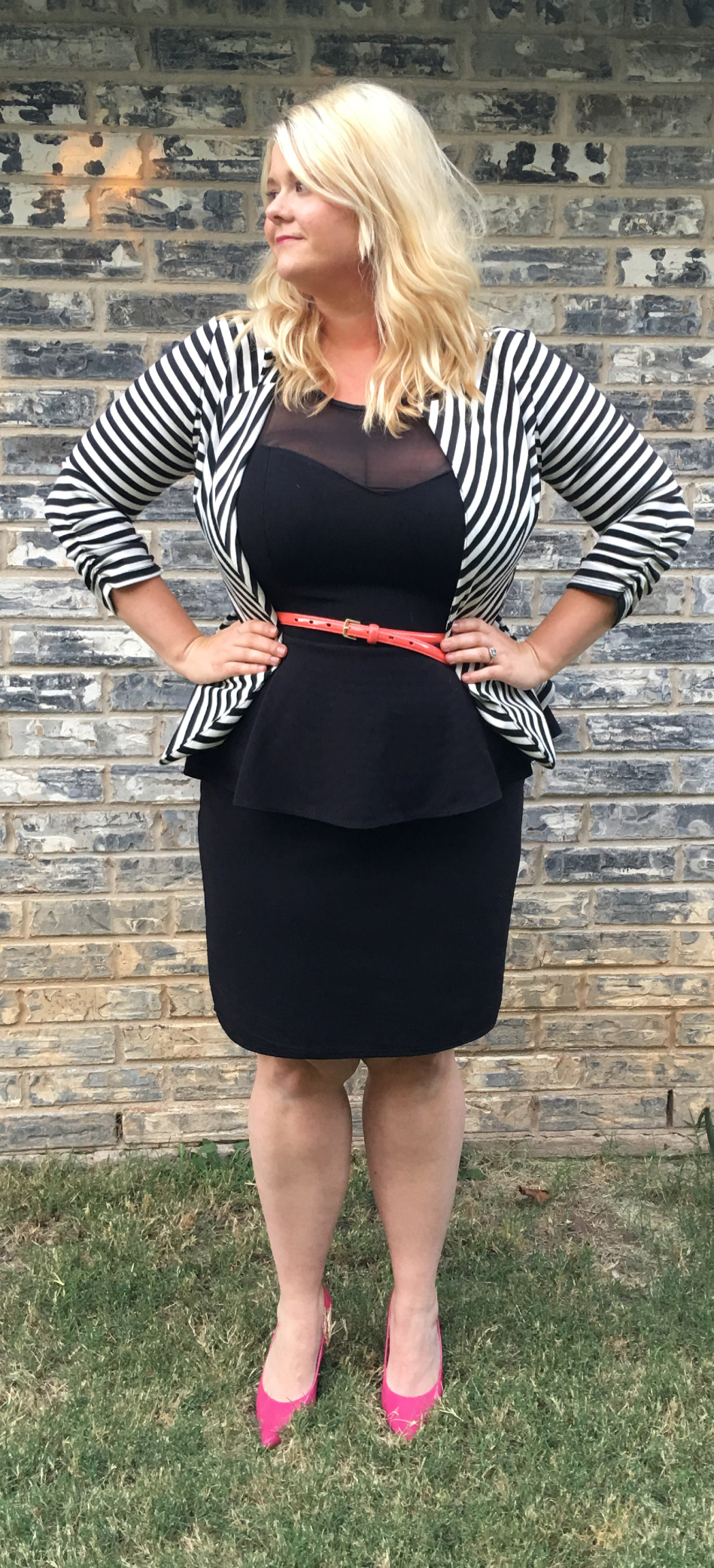 Real Style Susan peplum dress
