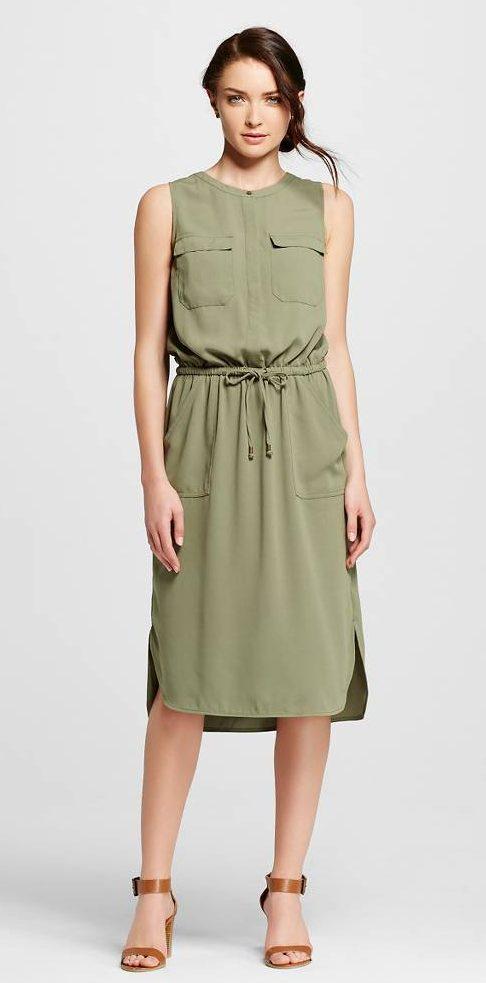 September Wish List Target Merona Utility Dress