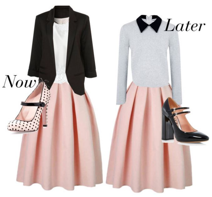 now and later skirts 4