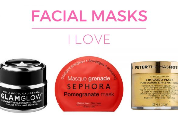 Facial Masks I Love