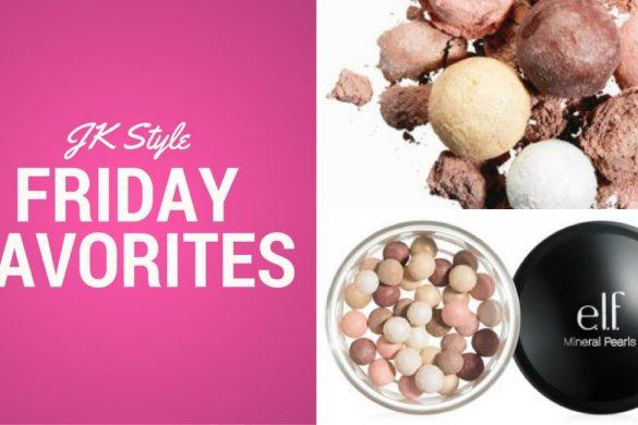 Friday Favorites- e.l.f. Mineral Pearls