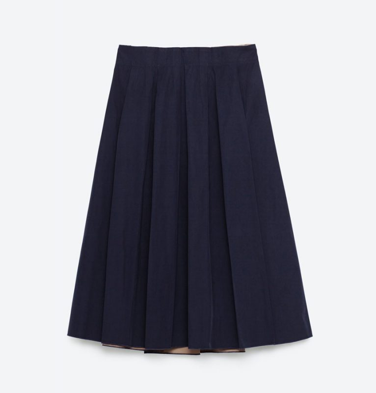 Under $40 Stylish Gifts Zara Reversible Midi Skirt