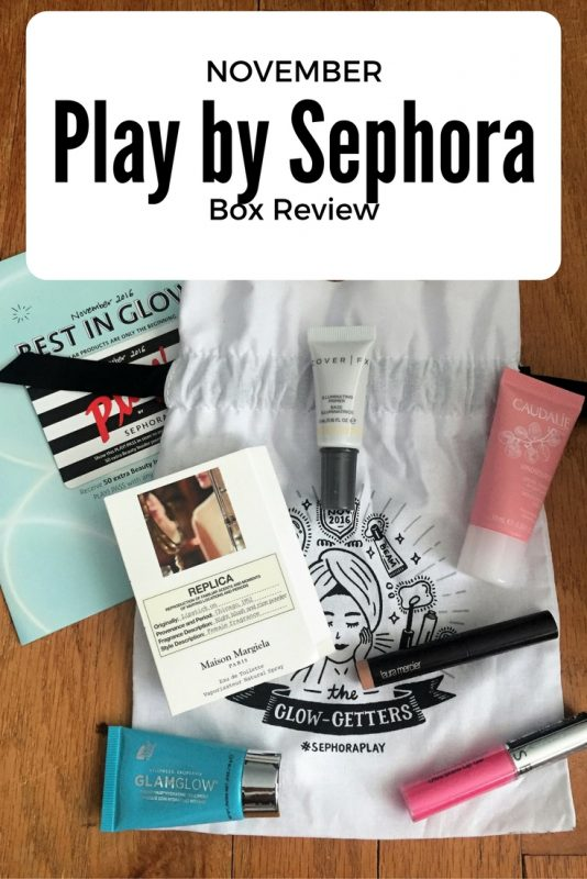 November Play by Sephora subscription box review on JKStyle.com