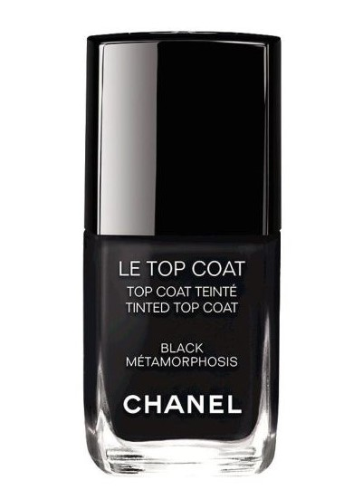 Friday Favorites Chanel Le Top Coat Black Metamorphosis