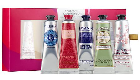 Gifts to split up L'Occitane Hand Cream Collection